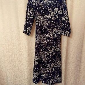NWOT Ulla Popken 12/14 A-line cotton knit dress